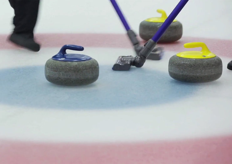 Dyson shows the future of Olympic curling (video)