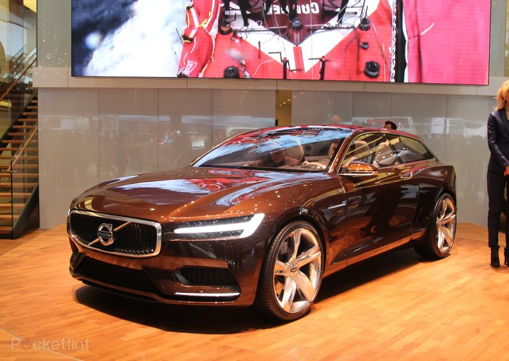 Volvo Concept Estate pictures and hands-on
