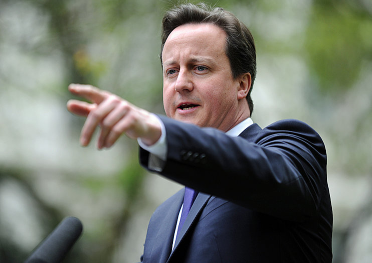 David Cameron outlines plans for UK's spectrum, promises 5G mobile broadband