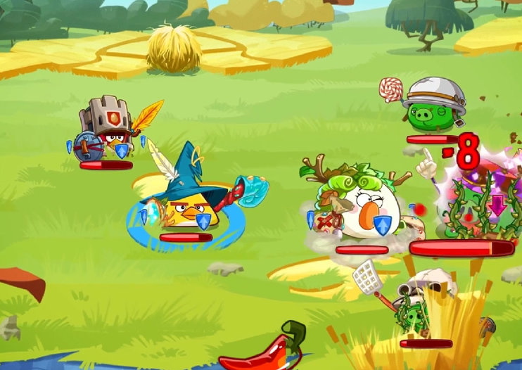 Angry Birds Epic gameplay revealed, the Final Fantasy-esque RPG to be free (video)