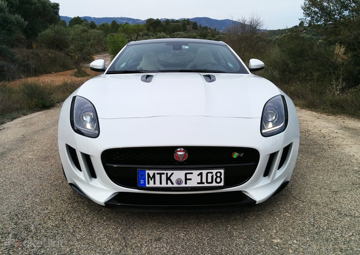 Hands-on: Jaguar F-Type Coupe review