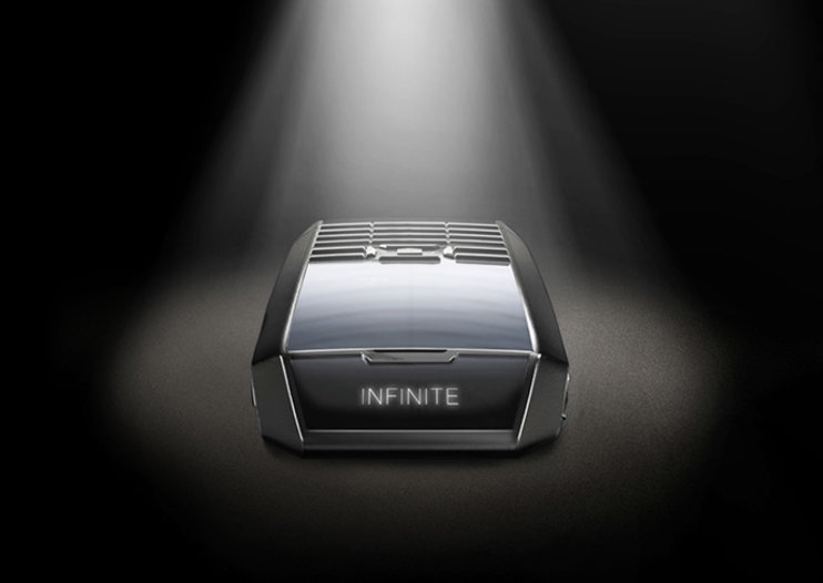Tag Heuer Meridiist Infinite luxury phone charges itself through the screen
