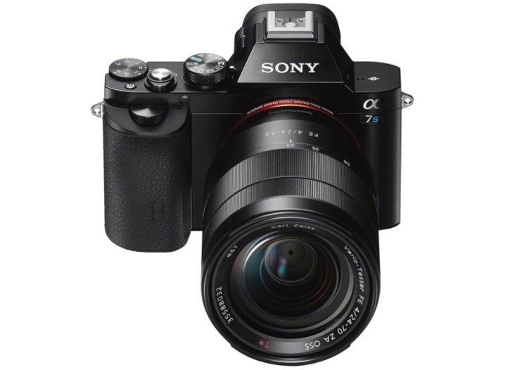 Sony Alpha A7S: new 12-megapixel full-frame model capable of 4K video