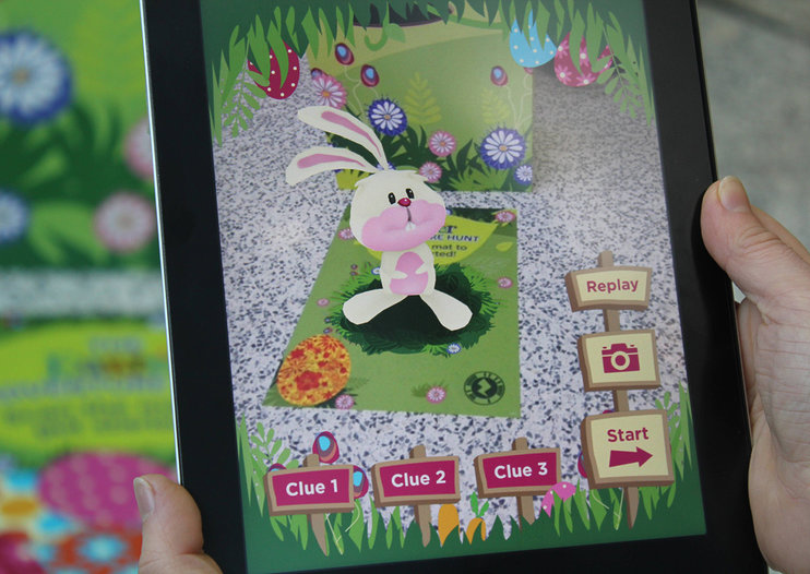 Asda teams with Zappar for AR Easter Adventure Hunt in stores, find the Easter bunny for a fre