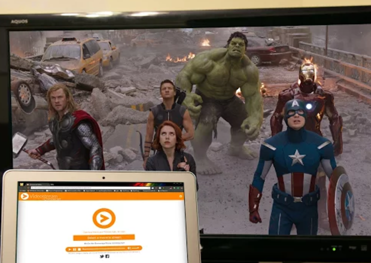 Videostream Chrome app for Chromecast streams any local video to your television