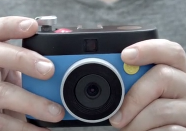 Otto crank-wind camera and app on Kickstarter lets you capture animated GIFs with filters