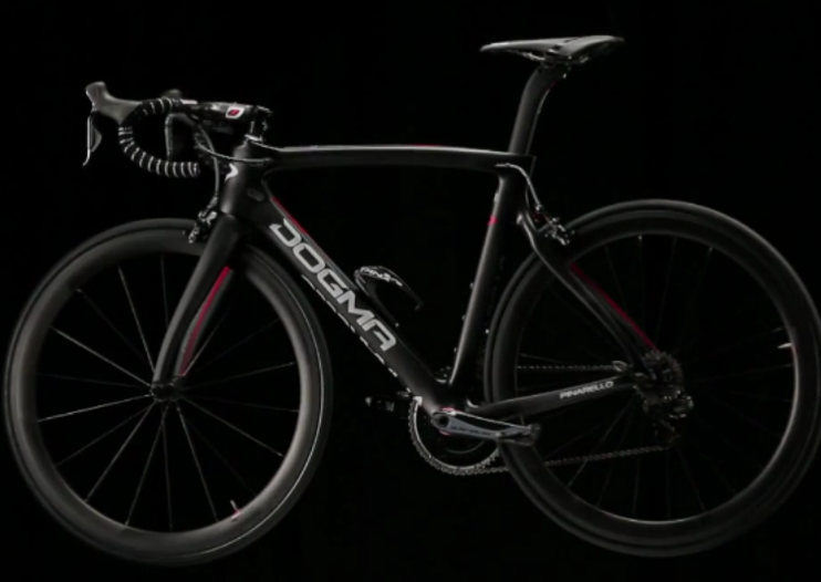 Jaguar and Pinarello unveil aerodynamic Dogma F8 bike for Team Sky
