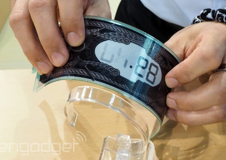 E Ink working on wraparound display for future, larger smartwatches