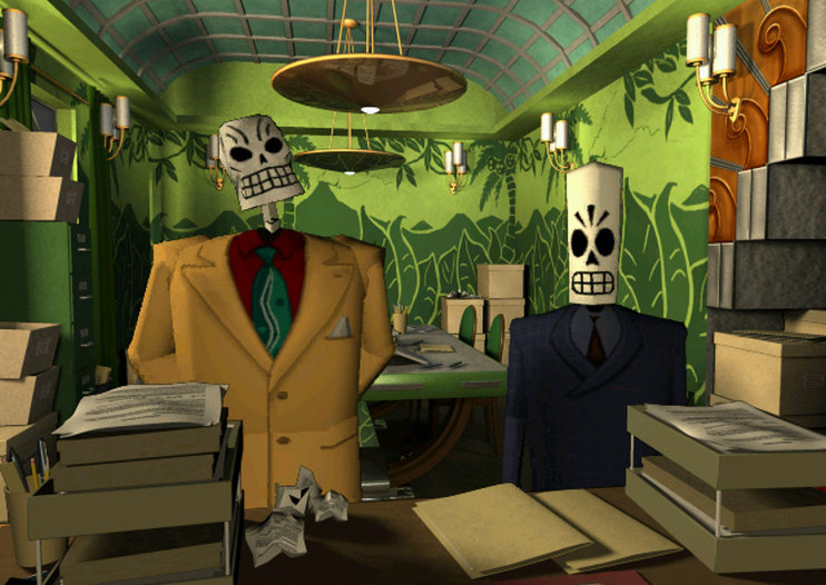 Grim Fandango to be remade for PS4 and PS Vita, can we have Day of the Tentacle next Mr Sony?