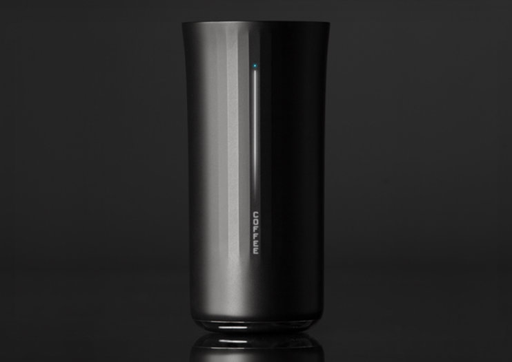 Vessyl smart cup knows what you pour into it, keeps track out your daily intake