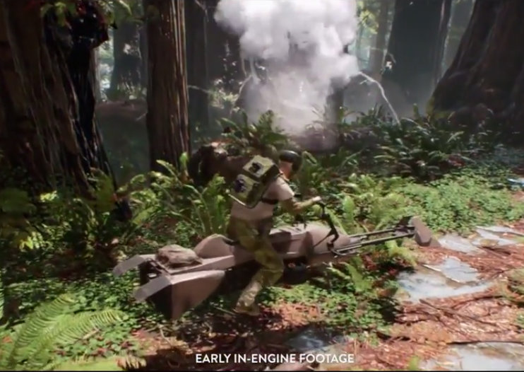 Early Star Wars Battlefront in-game footage shown at E3 and it looks simply stunning