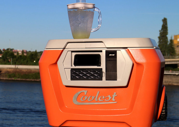'Coolest' cooler with built-in blender, speaker, charger and more raises over $5m (Update)