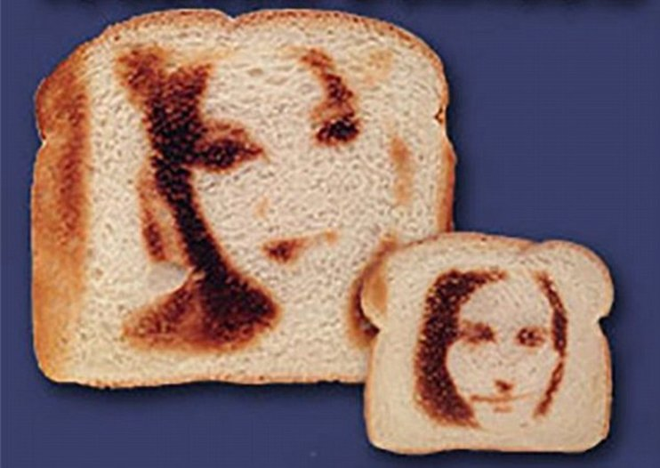 Make toast with a selfie of your face, or anyone else you want to consume