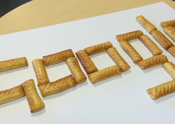 Greggs suggests sausage roll Google doodle to make up for offensive search results