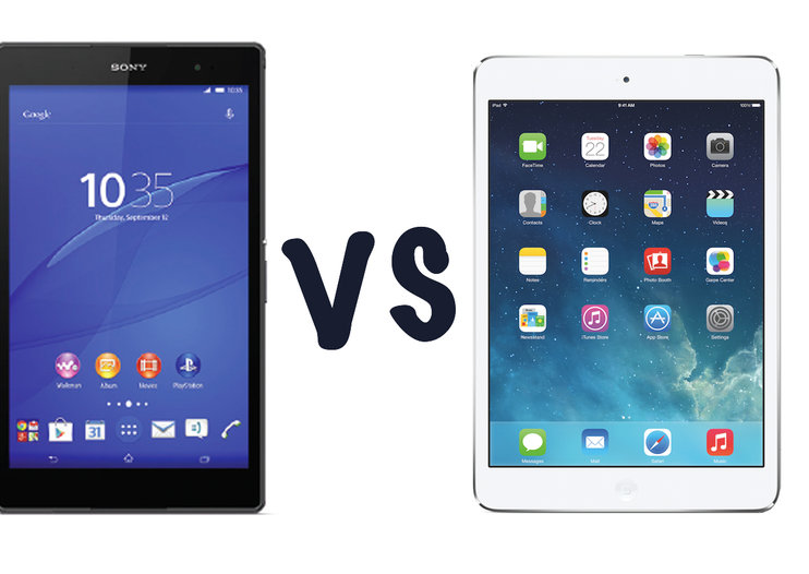 Sony Xperia Z3 Tablet Compact vs Apple iPad mini with Retina display: What's the difference?