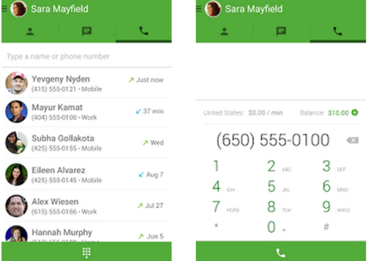 Google Hangouts adds free voice calls to phones in U