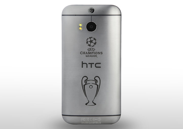 As Champions League football returns, HTC creates special edition HTC One (M8)