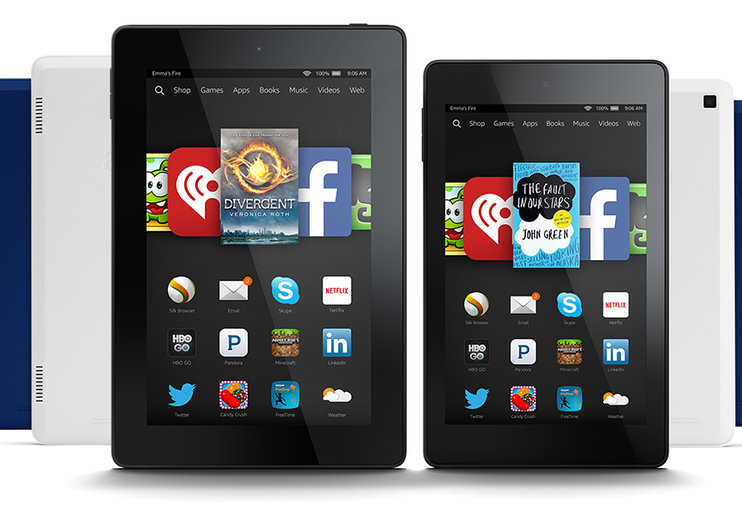 Amazon Fire range refreshed, with new colours for Fire HD and more powerful HDX