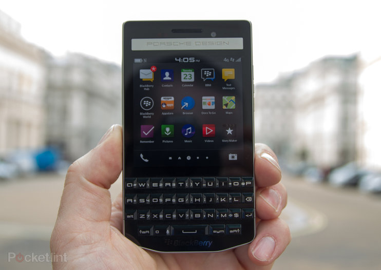 Porsche Design P'9983: The £1400 BlackBerry for power professionals (hands-on)