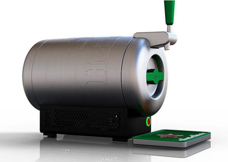 The Sub could be the ultimate home draught beer kit, from Apple designer Marc Newson
