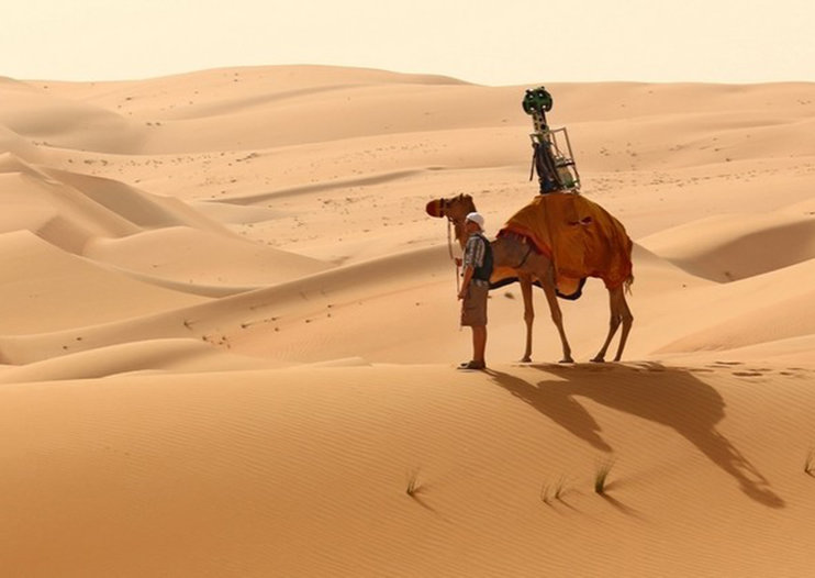 How Google maps the world with camels, bikes, kayaks and more