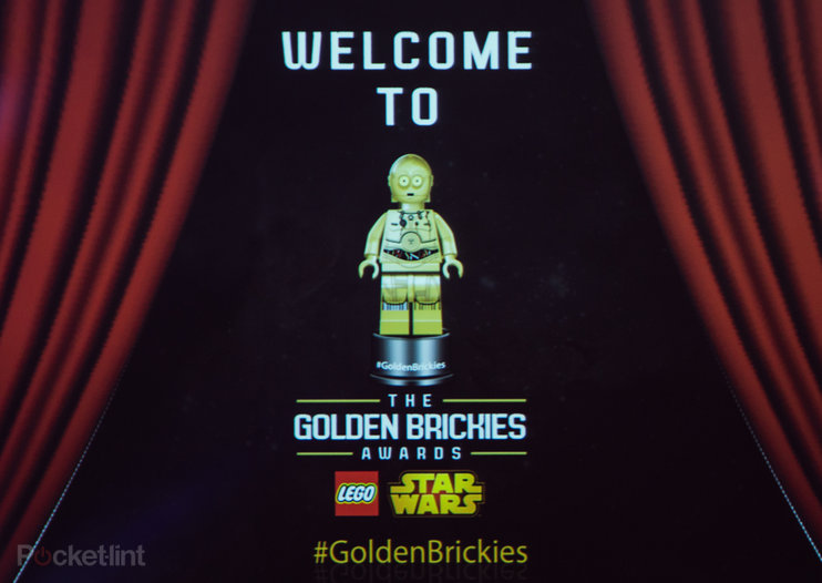 Inaugural Golden Brickies celebrates Star Wars Lego in perfect fan style