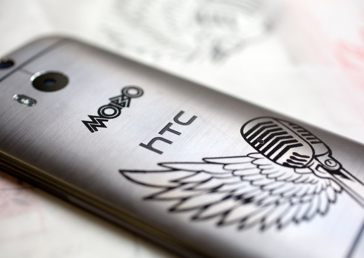 Limited MOBO 2014 edition HTC One M8 gets its tats out