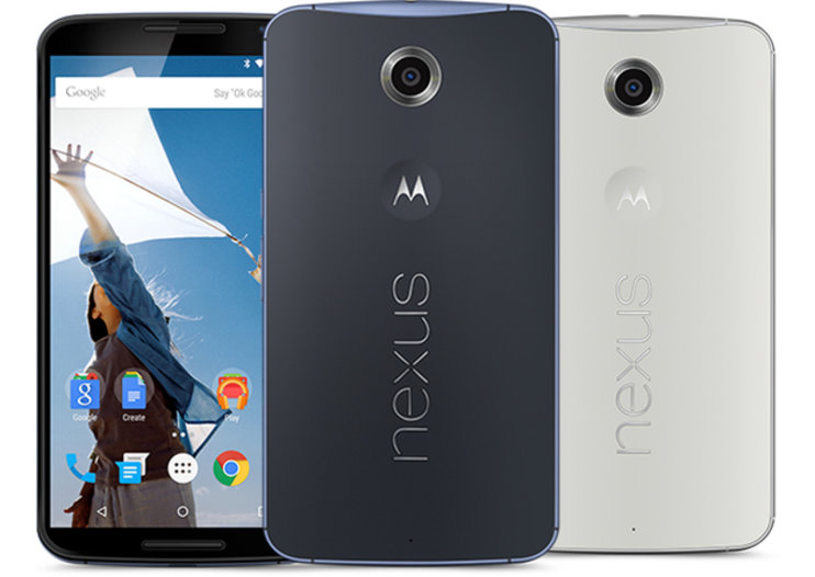 Nexus 6 available from 1 December in UK, pre-orders from 18 November