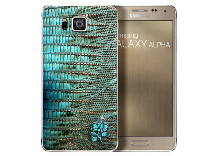 Samsung's Galaxy Alpha now comes dressed in a super-limited, fancy leather