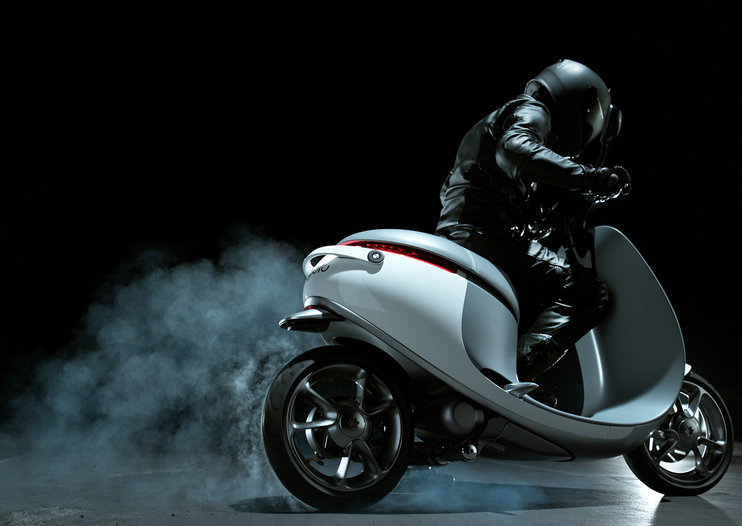 Gogoro electric Smartscooter uses 6-second battery swap stations for endless speedy riding