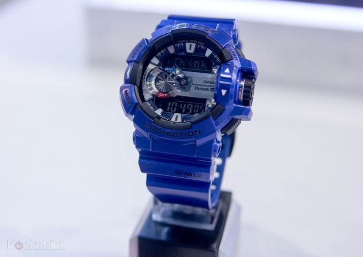Casio G-Shock GBA-400 gives wrist control over music without going full smartwatch (hands-on)