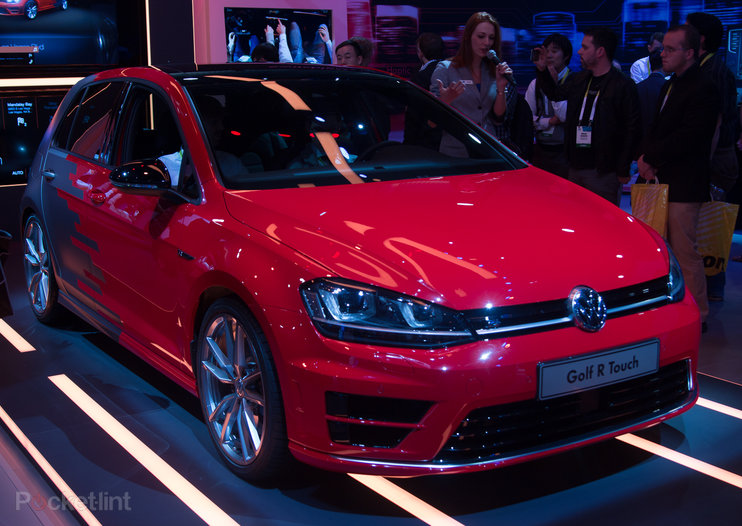 VW Golf R Touch hands-on: Forget knobs, VW sees gestures and touchscreen as the future