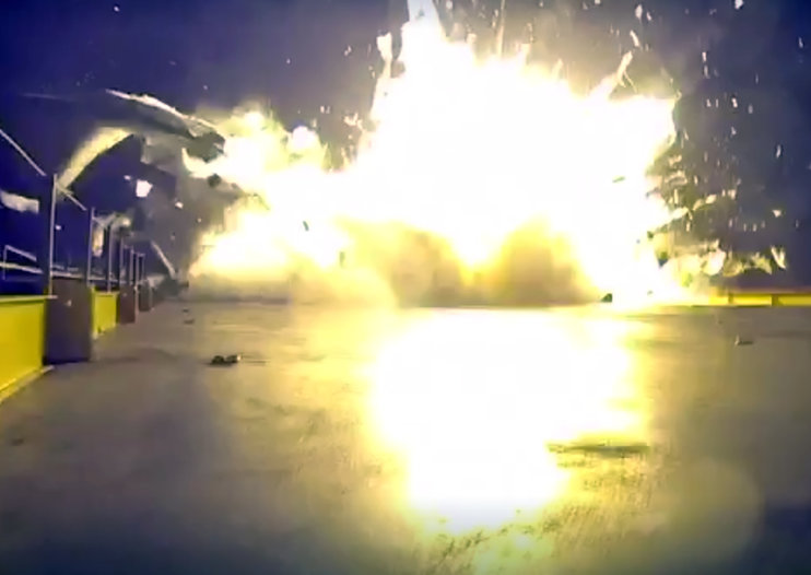 What is SpaceX's Falcon 9, and why did it crash?