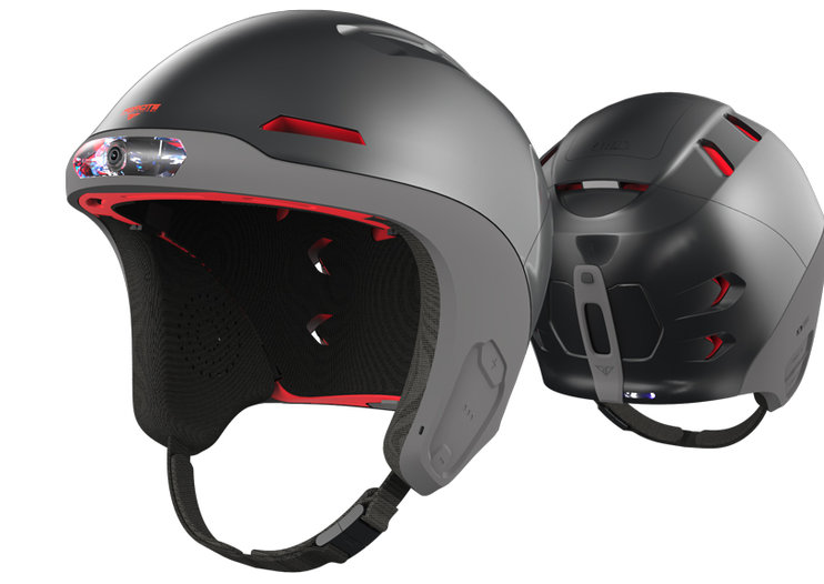 Forcite Alpine: the smart snow helmet with 1080p camera, speakers, fog lights, tracking and more