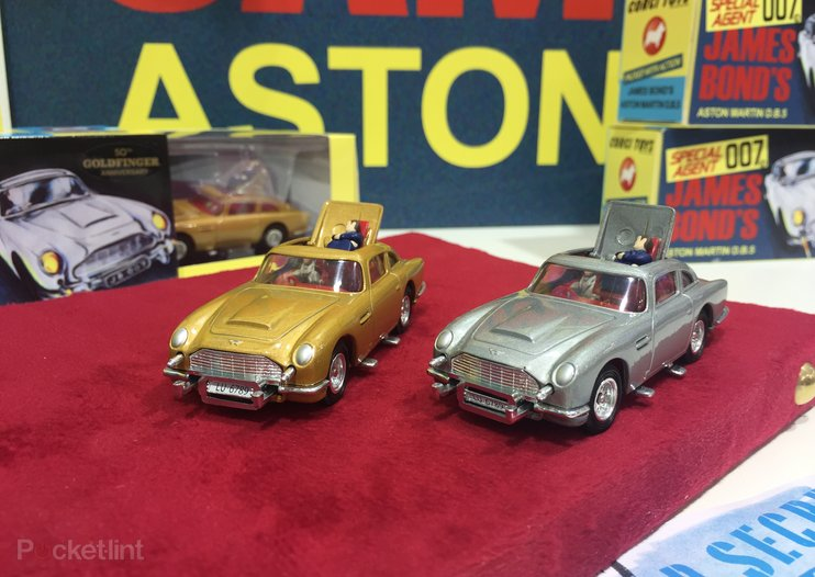 Ejector seats at the ready: Corgi 50th anniversary Aston Martin DB5 revealed