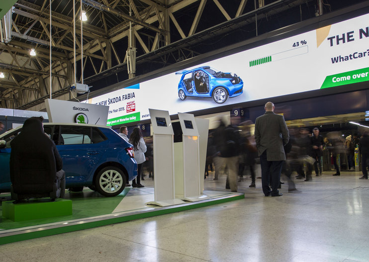 Skoda uses augmented reailty to let you design and try on a new Fabia