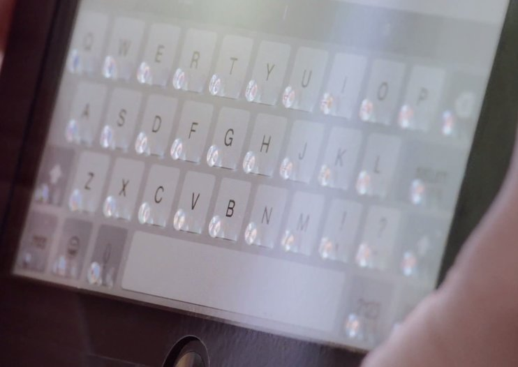 Tactus' Phorm case magically makes physical keyboard bubbles appear on your iPad mini screen