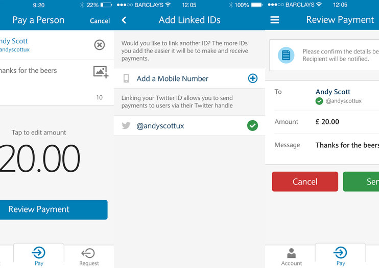 Pay people via Twitter, now an incoming thing in the UK thanks to Pingit and Barclays