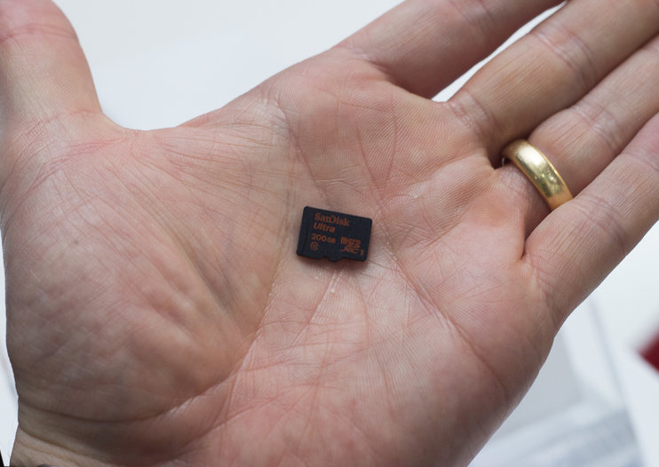 Wow! 200GB microSD card stores more data than an iPhone, and is smaller than a 1p coin