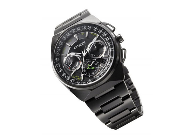 Citizen Eco-Drive Satellite Wave F900 is GPS synchronised and solar powered
