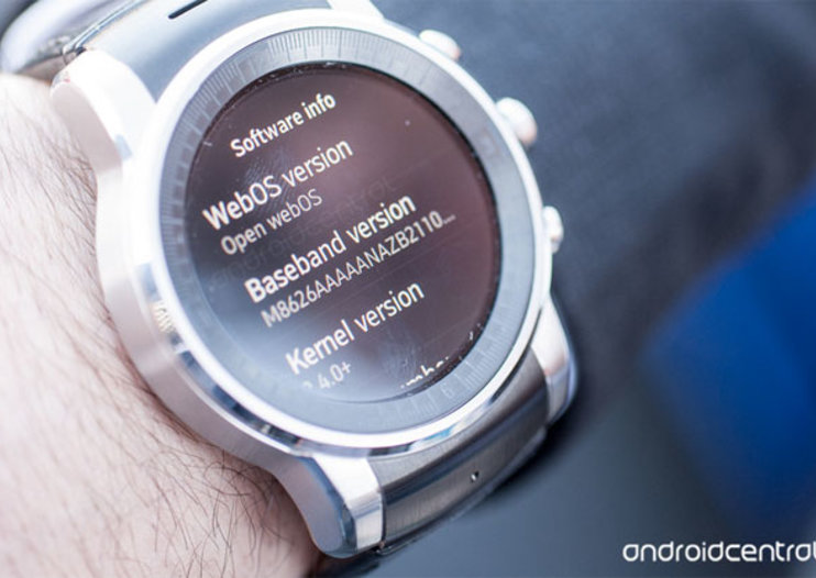 LG and Audi watch is the first to put webOS on the wrist
