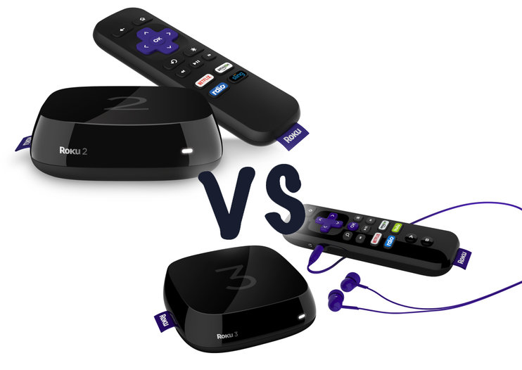 New Roku 2 vs new Roku 3: What's the difference? (Hint - it's the remote)