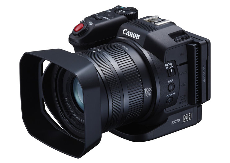 Canon goes 4K crazy with XC10 and EOS C300 Mk II video cameras and a reference monitor to boot