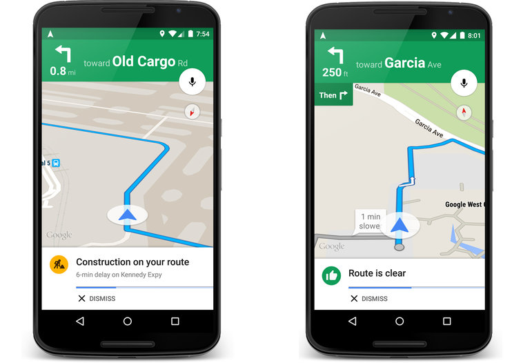 How is Google Maps 'traffic alerts' better than current 'traffic conditions'?