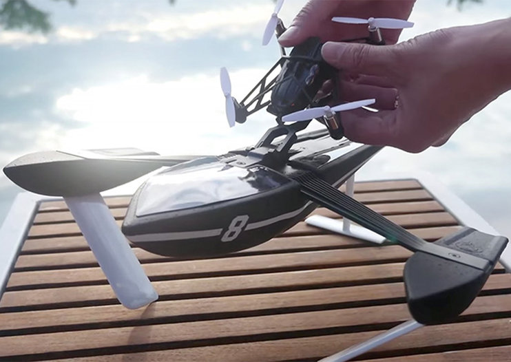 Parrot unveils affordable new minidrones for land, air and even sea