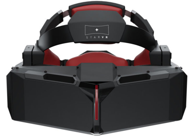 StarVR offers double the field of view Oculus Rift can, plus dual QHD displays