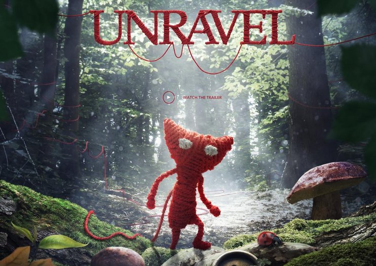 Unravel is EA's new puzzle game, and it stars a cute ball of yarn