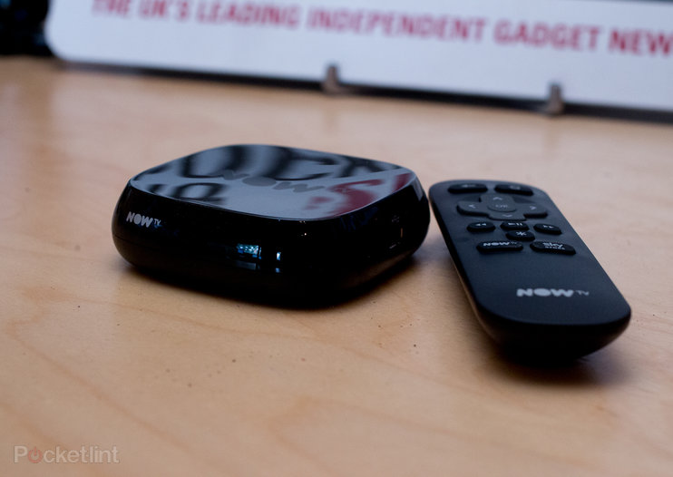 New Now TV Box (2015) arrives, we get watching the latest movies, TV and sport