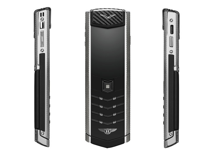Vertu Signature for Bentley: The £14,500 phone for your £252,000 car