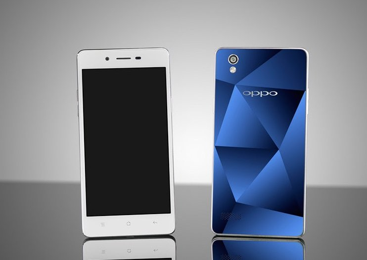Oppo's new Mirror 5 phone has a diamond-like glass back, runs custom Android